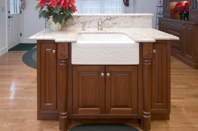 Castellana Apron Front Ceramic Kitchen Sink